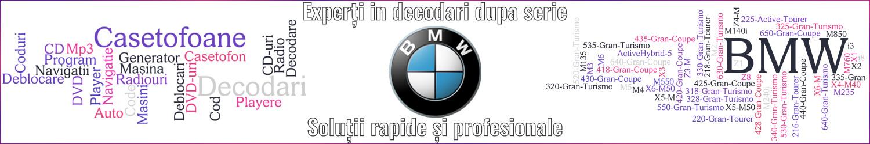experti decodari casetofoane navigtii auto bmw