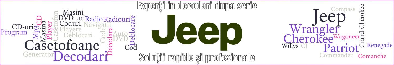 experti decodari casetofoane navigtii auto jeep
