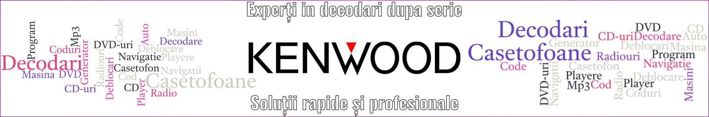 experti decodari casetofoane radio auto kenwood