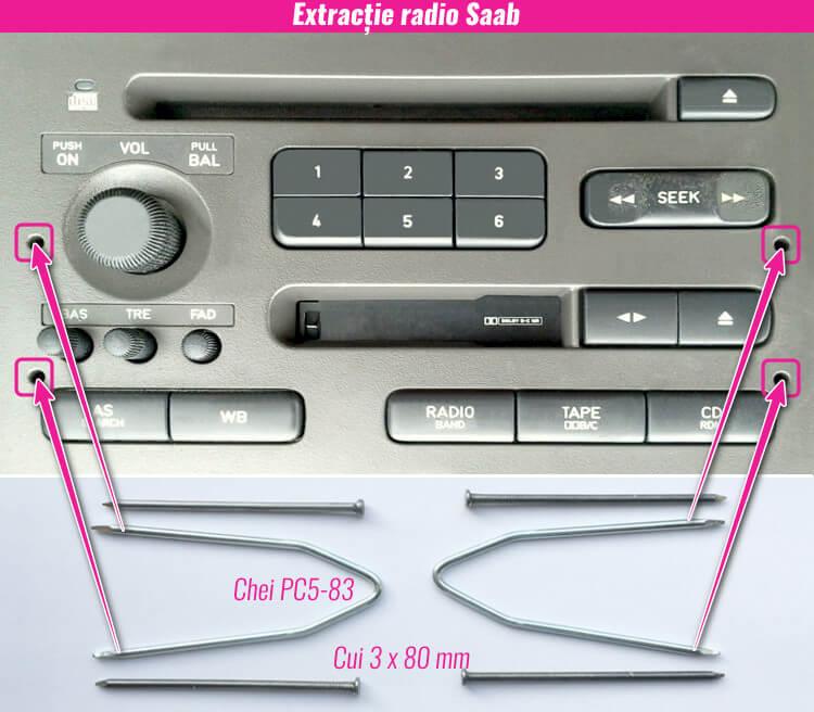 decodare radio casetofon cd mp3